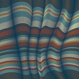 Verzogene linien hintergrund