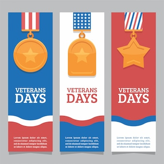 Veteran day banner