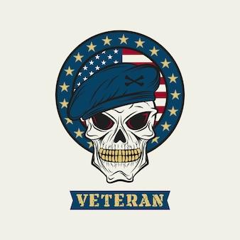 Veteranenschädel