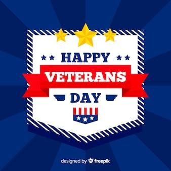 Veterans day flache designtapete