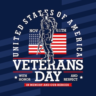Veterans day grafik