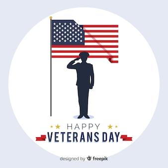 Veterans tag hintergrund