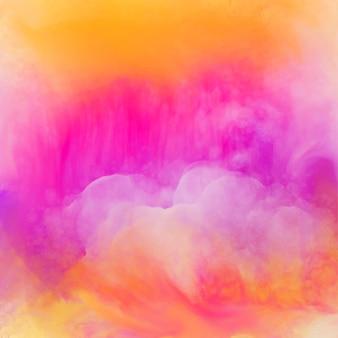 Vibrierender heller aquarellbeschaffenheitshintergrund