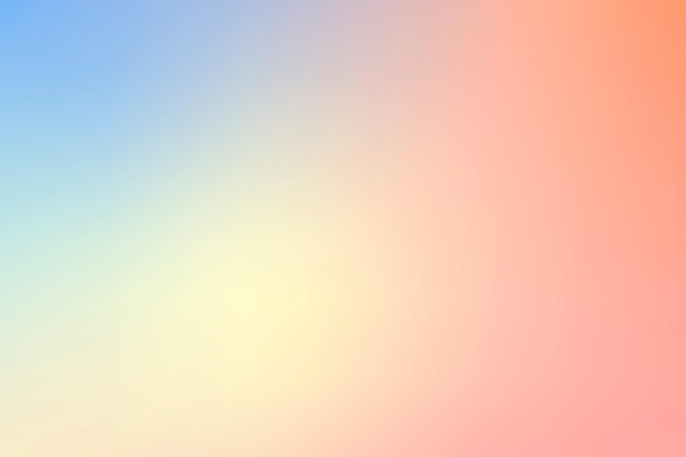 Vibrierender sommer-ombre-hintergrundvektor