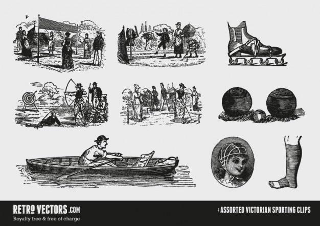 Victorian sport clips