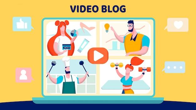 Video-blogging
