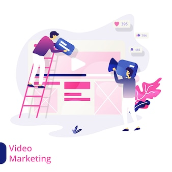 Video-marketing-illustration