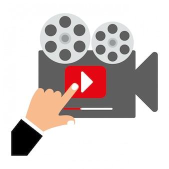 Video- oder filmikonenbild