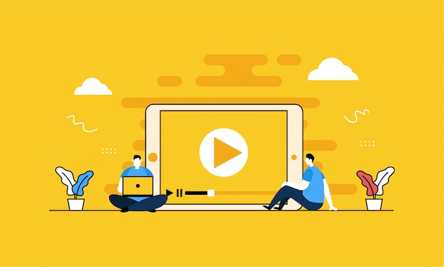 Video player-banner