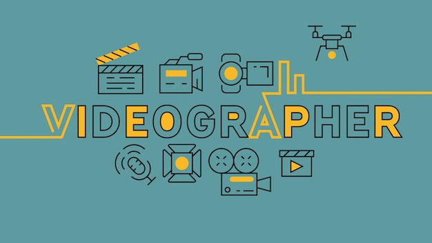Videographer infographic