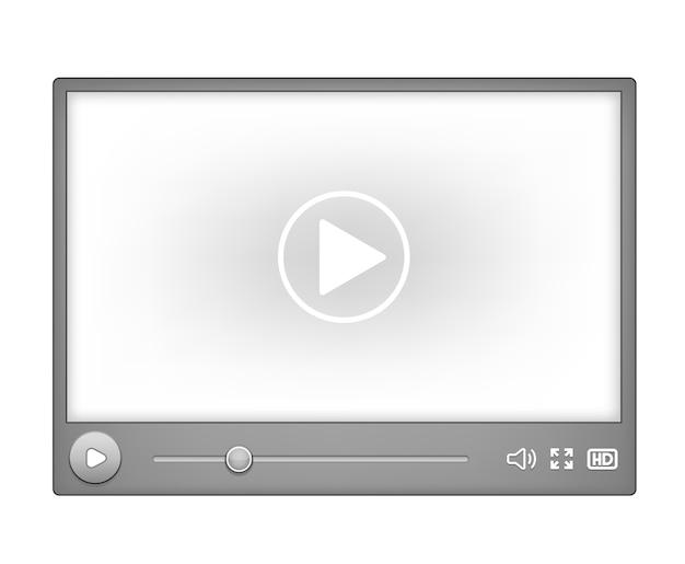 Videoplayer für das web