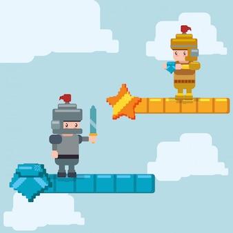 Videospiel-icon-design
