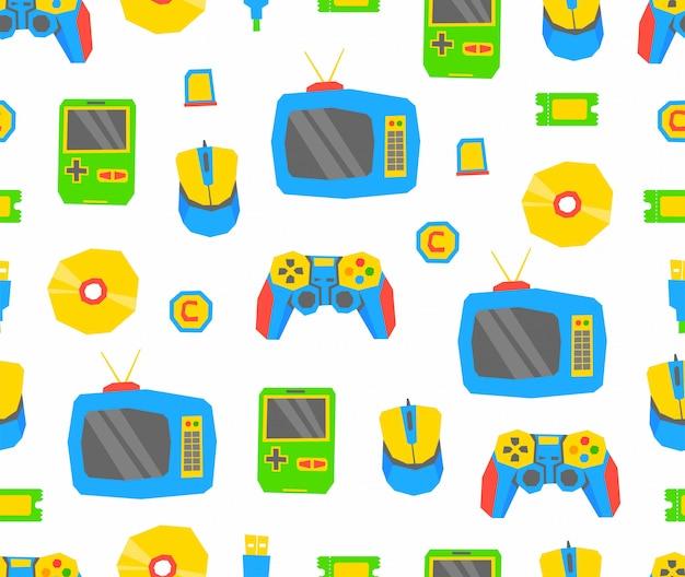 Videospiele-muster