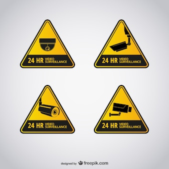 Videoüberwachung zeichen