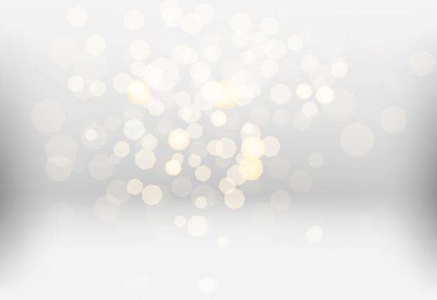 Viele helle verwaschene lichter