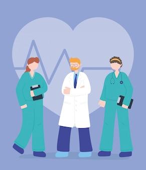 Vielen dank, ärzte, krankenschwestern, ärzte und krankenschwestern medizinische charaktere