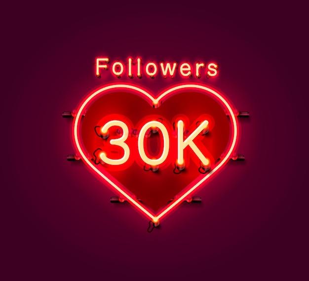 Vielen dank, dass sie anhänger völker, 30.000 online-social-group, leuchtreklame