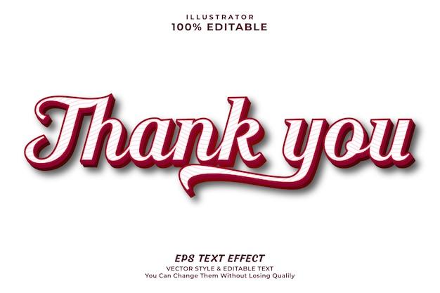 Vielen dank süße farbe texteffekt -