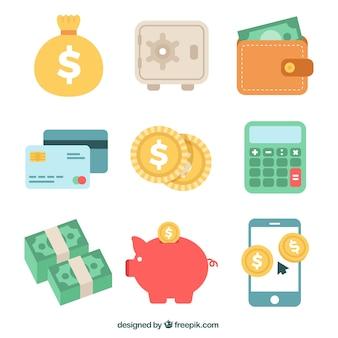 Vielfalt der geld artikel