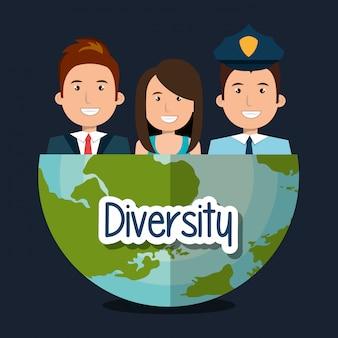 Vielfalt, die menschen gestalten