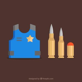 Vielzahl von kugeln