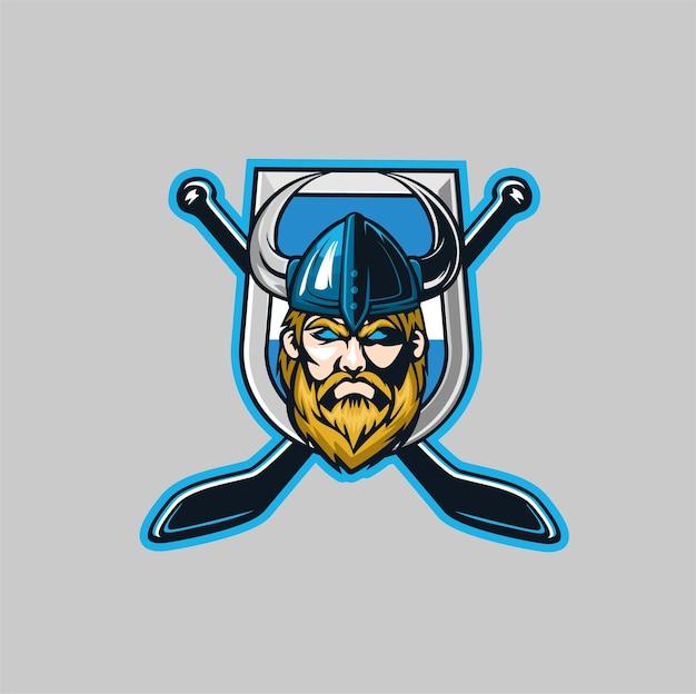 Viiking maskottchen team game sport