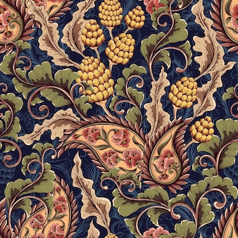 Viktorianischen nahtlose Muster