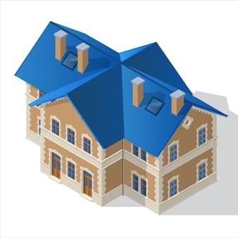 Villa isometrische