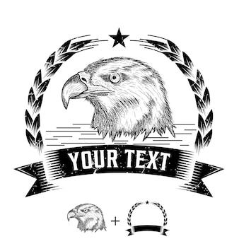 Vintage adler logo