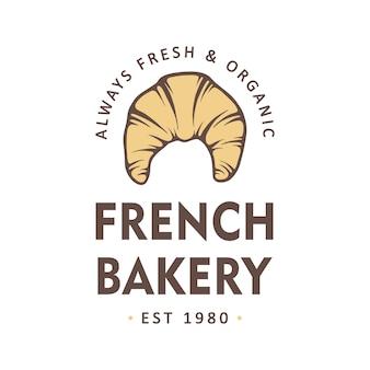 Vintage bäckerei-shop-logo