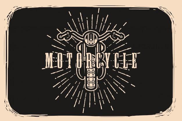 Vintage benutzerdefinierte motor