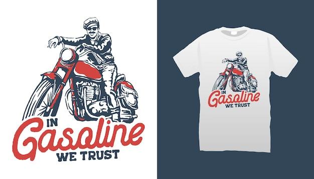 Vintage-biker-illustration