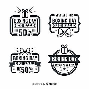 Vintage boxing day sale abzeichen sammlung