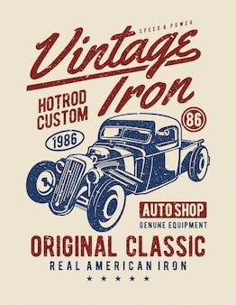 Vintage eisen