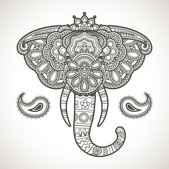 Vintage elefant