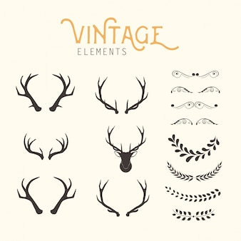Vintage-elemente