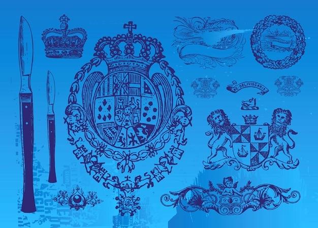 Vintage embleme