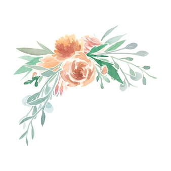 Vintage florale ornamente