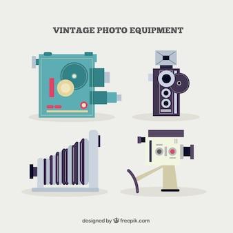 Vintage foto-ausrüstung