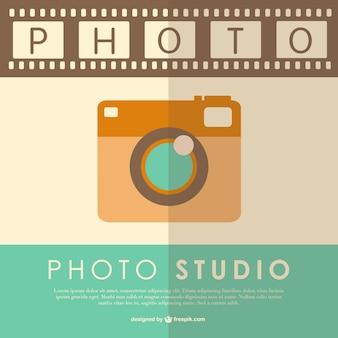 Vintage-fotografie vektor-vorlage