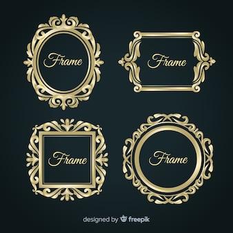 Vintage frame business sammlung vorlage