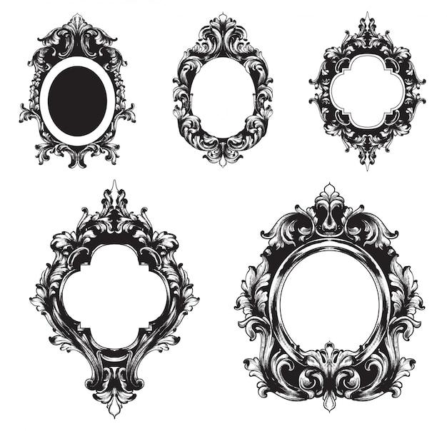 Vintage frames-auflistung