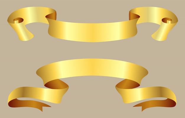 Vintage goldbänder