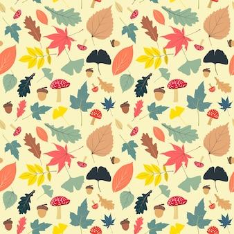 Vintage Herbst nahtlose Muster
