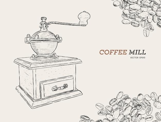 Vintage kaffeemühle