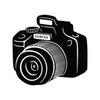 Vintage kamera schießen fotografie