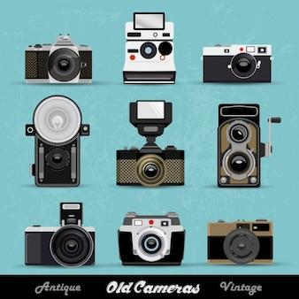 Vintage-kameras sammlung