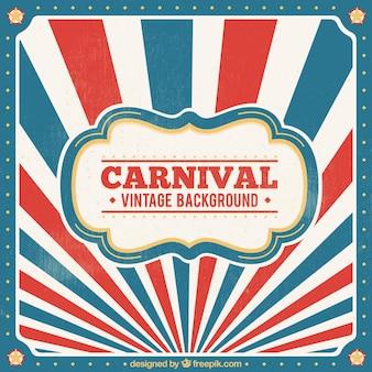 Vintage karneval hintergrund