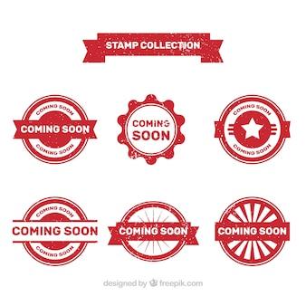 Vintage kommt bald briefmarkensammlung
