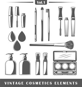 Vintage kosmetikelemente